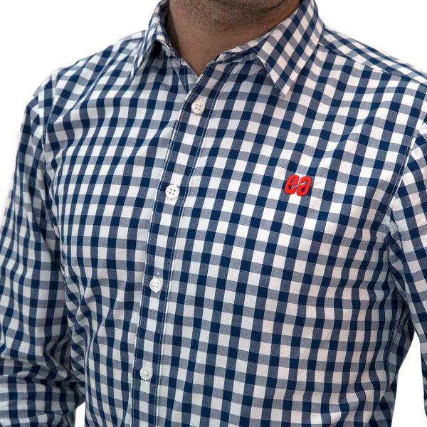 camisa elegance bonealive moda surf ecologica 3 600x600 - Camisa cuadros Vichy