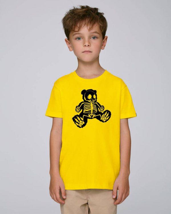 camiseta-amarilla-niño-bear-hug-bonealive