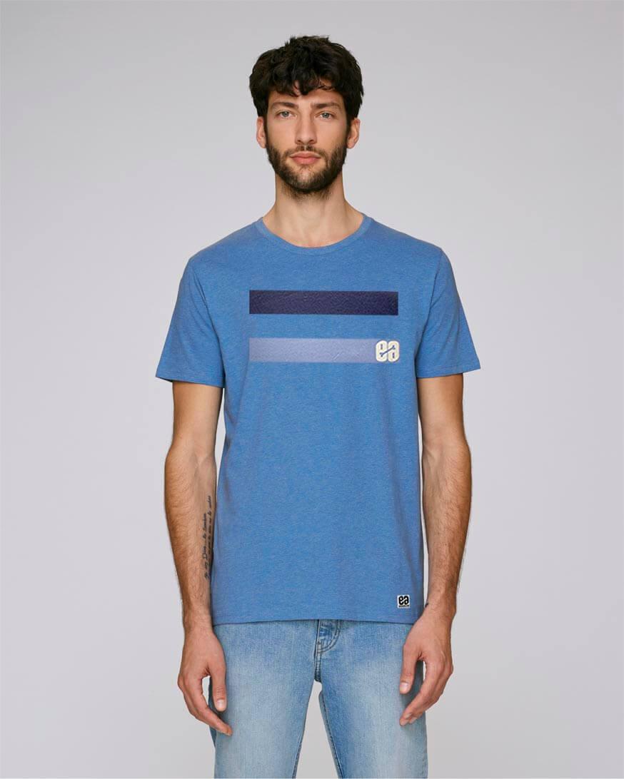 Camiseta azul claro Essential Blue - 100% Ecofriendly ...