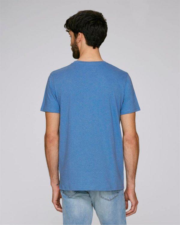 camiseta azul claro hombre