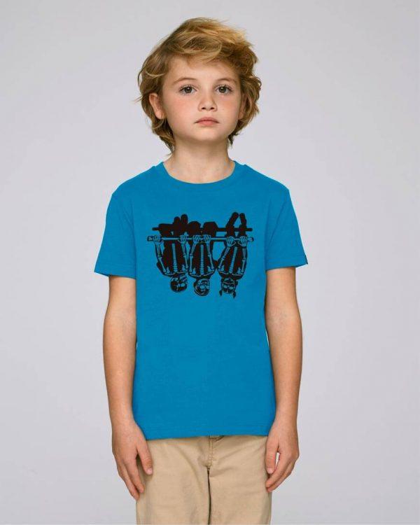 camiseta azul eléctrico niño | Bonealive