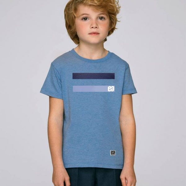 camiseta azul niño essential blue | Bonealive