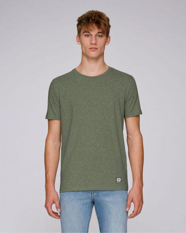 camiseta caqui para hombre