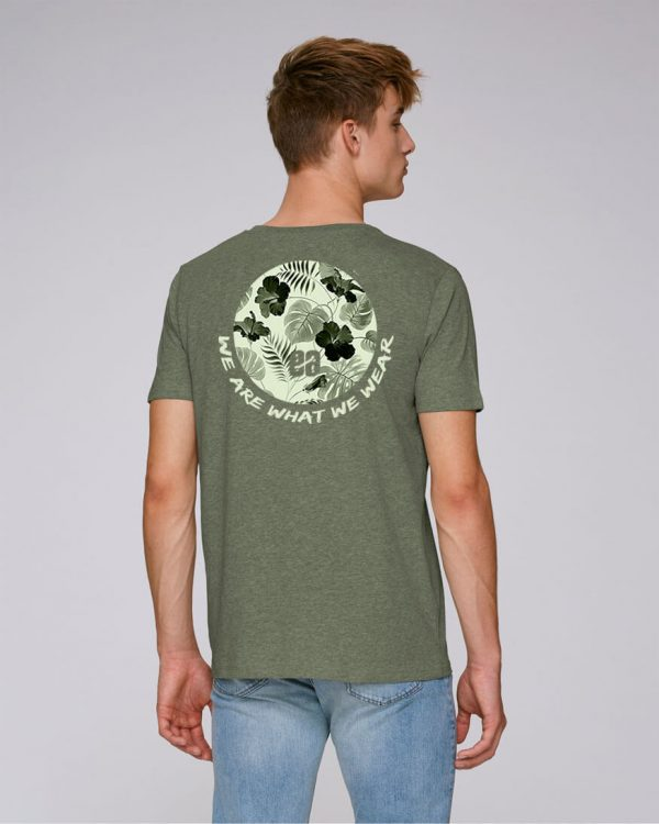 camiseta caqui hombre