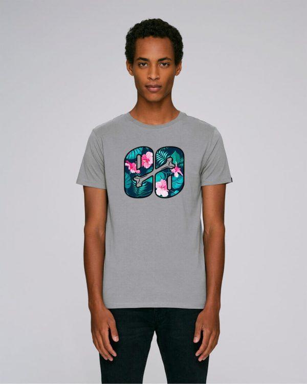 camiseta estampado flores hombre | Bonealive