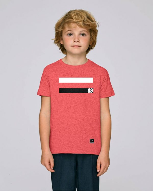 camiseta-rayas-niño-essential-red-bonealive