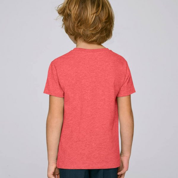 camiseta roja niño essential red | Bonealive