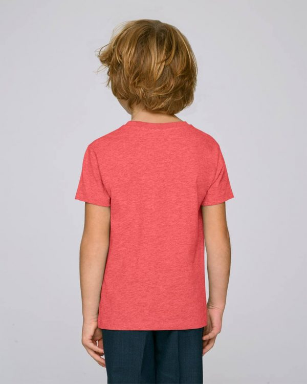camiseta-roja-niño-essential-red-bonealive
