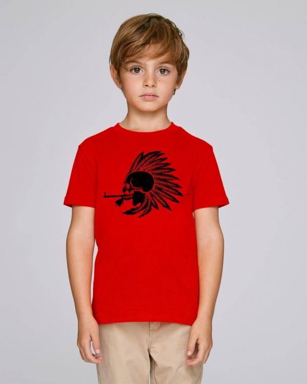 camiseta roja niño Indian Pipe | Bonealive
