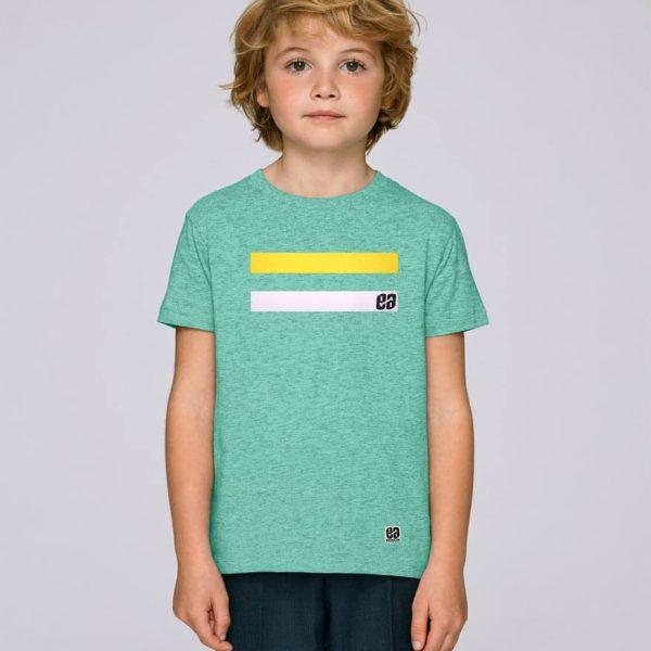 camiseta verde niños essential green | Bonealive