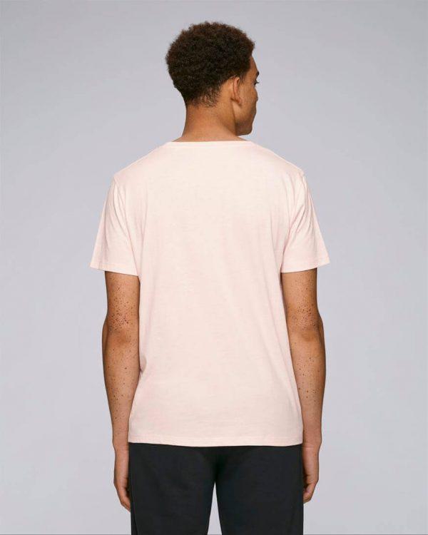 camiseta rosa hombres