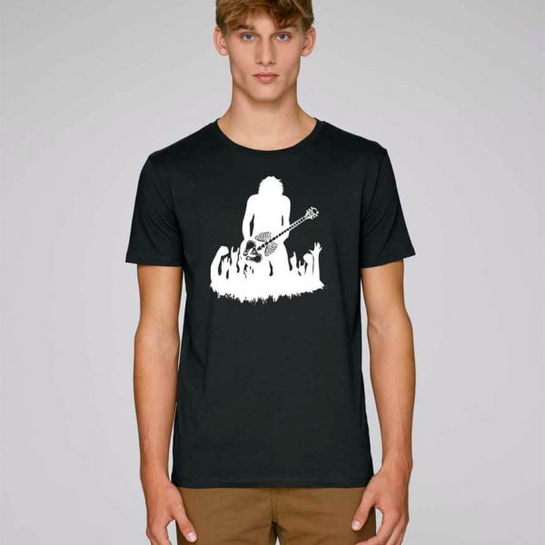 camiseta rock talent Bonealive