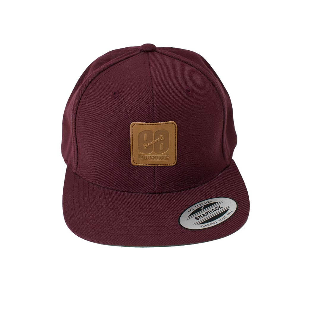 e7588158ca58c gorra granate Wine by Bonealive