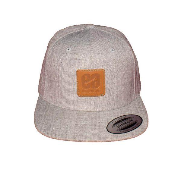 gorra gris hombre