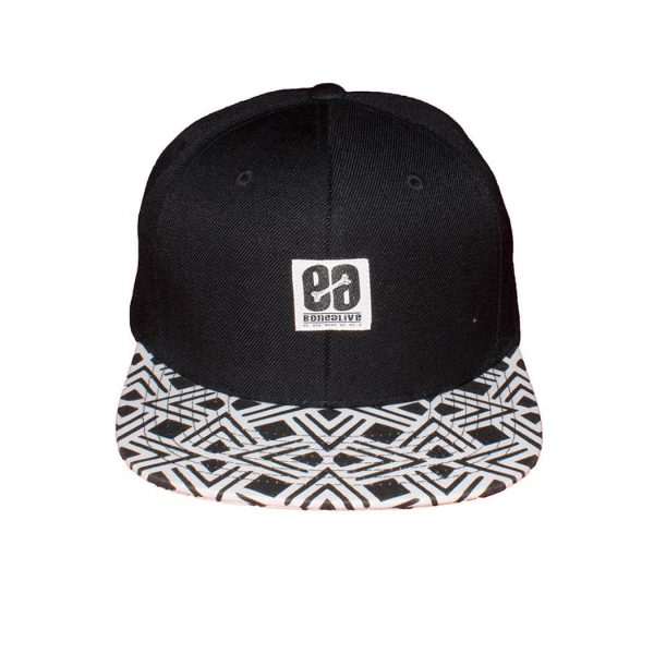 gorra negra Zigzag | Bonealive