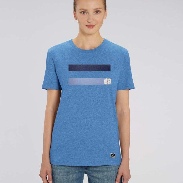 Camiseta azul claro mujer Essential blue