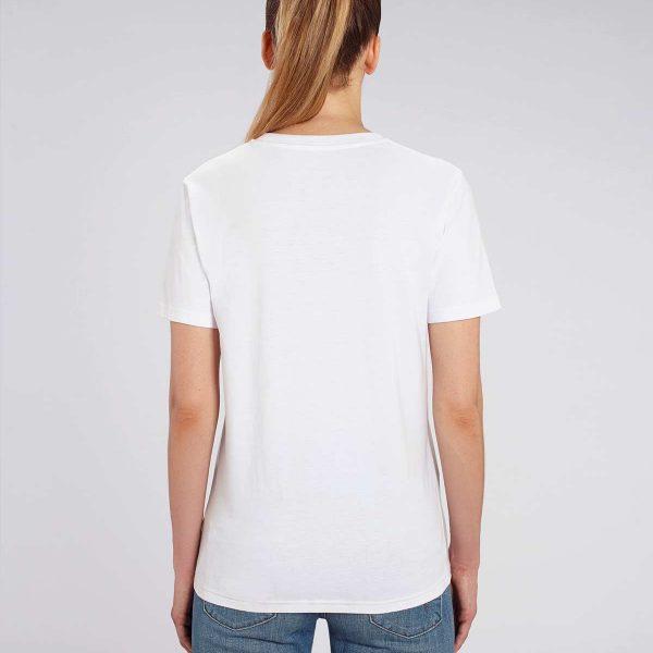 Camiseta blanca mujer Sunshine