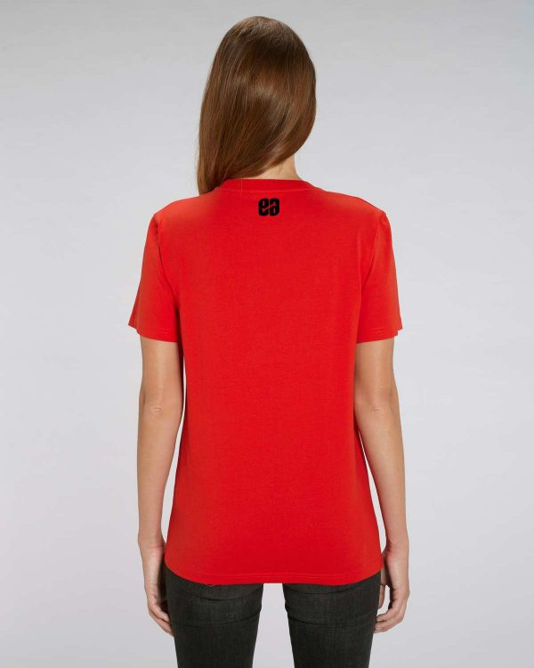 Camiseta roja chica Indian Pipe