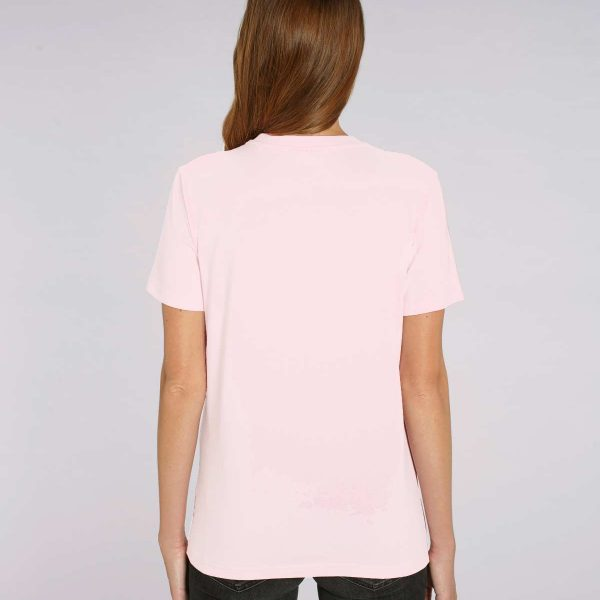 Camiseta rosa chicle para mujer Basic Rose