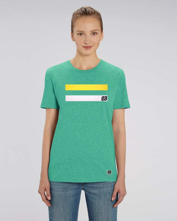 Camiseta verde agua mujer Essential Green